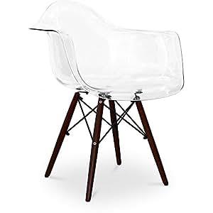 dunkle stuhlbeine daw stuhl charles eames style. Black Bedroom Furniture Sets. Home Design Ideas