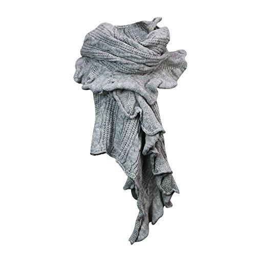 Damen Strick-Poncho Pulli winter Mantel Damen Pullover Top JY-3 PO201601 3a5 Beige