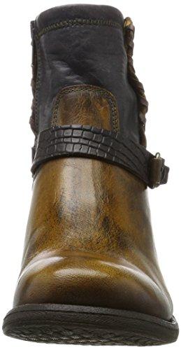 BUNKER Damen Stiefel Braun (Camel)