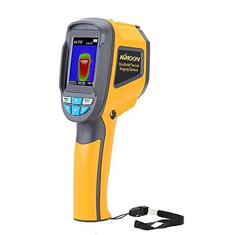KKmoon Handheld Caméra thermique professionnelle portable Thermomètre infrarouge IR caméra thermique infrarouge Appareil de retouche photo