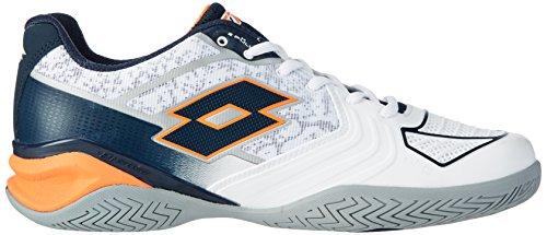 Lotto Sport Stratosphere Ii Spd, Chaussures de Tennis Homme Blanc (Wht/blu Avio)