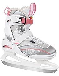 S.M.J. Sport–Patines de patinaje sobre hielo Lady Soft, todo el año, color multicolor, tamaño 41