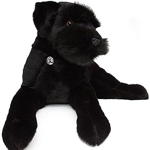 Schnauzer/Ruso Negro Terrier radja 65cm Peluche perro Peluche de kuscheltiere. BIZ