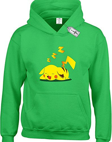 Pikachu Pokemon inspired Kids Hoodies Available in multiple Colours And Sizes.Free Delivery