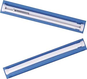"Spring Loaded Manual Tension Rod for Net Curtains & Voiles 40-60cm (17-27"")"