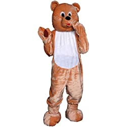 Dress Up America Atractivo traje de Mascotaa de oso de peluche de niños