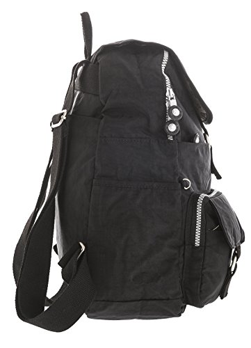 Big Handbag Shop, Borsa a zainetto donna Backpack Style 3 - Dark Grey