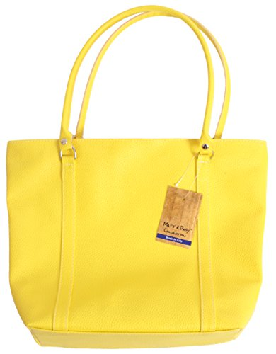 Matt e Desy collection , Sac à main pour femme Jaune jaune