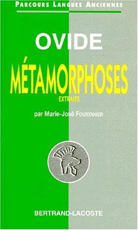 Ovide : Métamorphoses, Extraits - Parcours Langues Anciennes