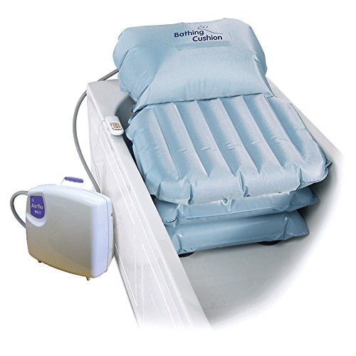 Mangar Komfort-Badekissen mit Rückenstütze weiß