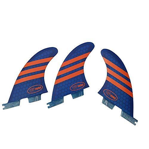 UPSURF Surfboard Tri Fin FCS II M Größe Fiberglas + H… | 00711414495961