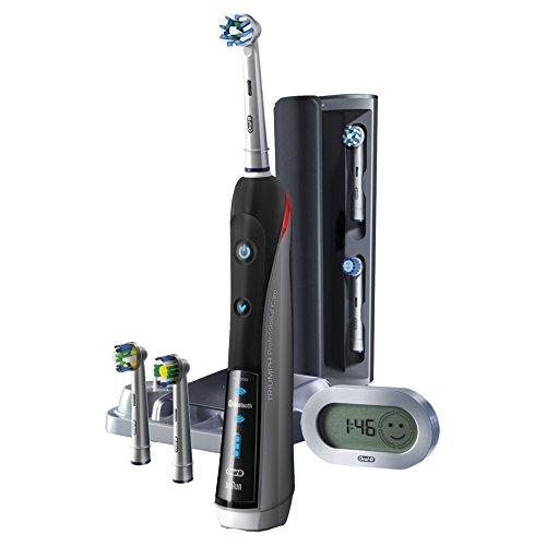 Oral-B SmartSeries Elektrische Zahnbürste Pro 7000, mit Bluetooth, Timer, SmartGuide, CrossAction, Sensitiv...