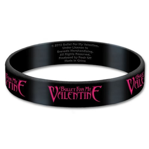 Price comparison product image Bullet For My Valentine Logo Bracelet Black