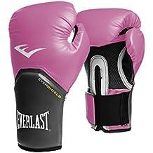Everlast Boxen Handschuhe - Guantes de boxeo para combate, color rosa, talla única