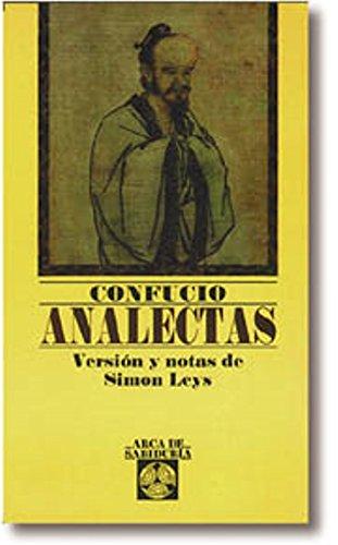 Analectas (Arca de Sabiduría) por Confucio