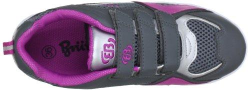 Bruetting Event Indoor V 361026 Mädchen Hallenschuhe Grau (grau/pink/silber)