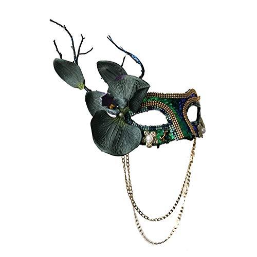 sche Maskerade, die Hauptmaske des Prinzessinnenwaldes, geeignet für Partys, Laufstege, Halloween (Color : C) ()