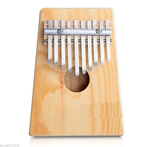 Zimo® 10 Töne Kalimba Daumenklavier Sanza Finger Daumen Klavier Holz Calimba