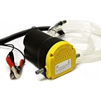 Bomba extractora de diésel y fluidos 8milelake de 12 voltios para coches, motos, vehículos - UKFBA