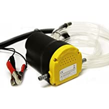 8milelake UKFBA - Bomba extractora de diésel y fluidos, 12 V
