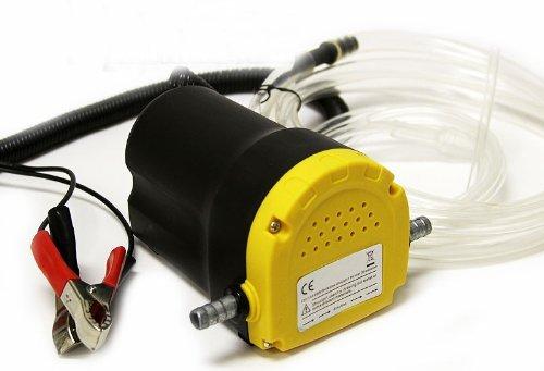 8milelake, pompa di travaso e aspirazione per carburante diesel, a 12 V, per auto, moto, veicoli, codice prodotto: UKFBA