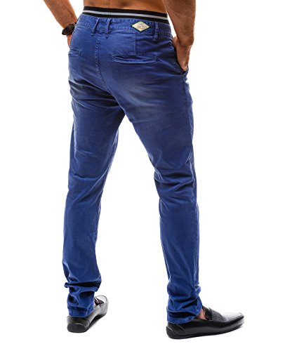 BOLF – CHINOS – Pantalons pour hommes – TMK 7315 - Homme bleu foncé