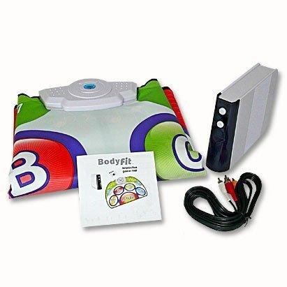 Wireless TV Spielkonsole mit Spielmatte und 9 Spielen Fitness Training Spielekonsole Sport Game Spielesammlung