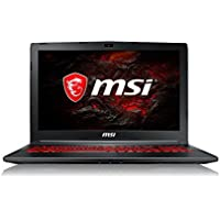 MSI GL62M 7RDX 1693UK 15.6-Inch Gaming Laptop - (Black) (Intel Core i7-7700HQ, 8 GB RAM, 128 GB SSD Plus 1 TB HDD, GeForce GTX 1050, Windows 10 Home)