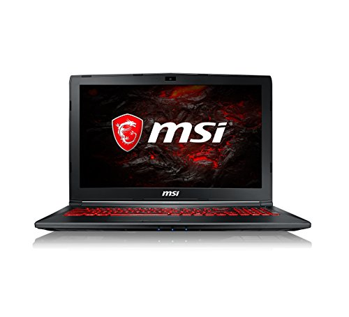 MSI GL62M 7RDX 1693UK 15.6-Inch Gaming Laptop - (Black) (Intel Core i7-7700HQ, 8 GB RAM, 128 GB SSD Plus 1 TB HDD, GeForce GTX 1050, Windows 10 Home)
