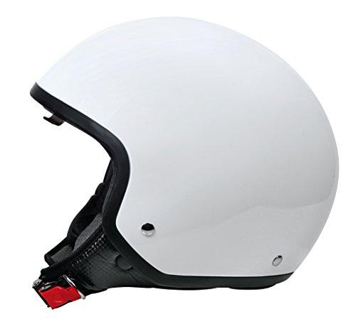 LAMPA - Brio, casco demi-jet - Bianco - XS