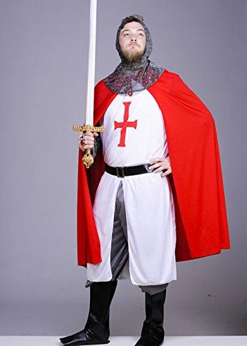 Unbekannt Erwachsene Mens tapfere Ritter Kostüm Medium