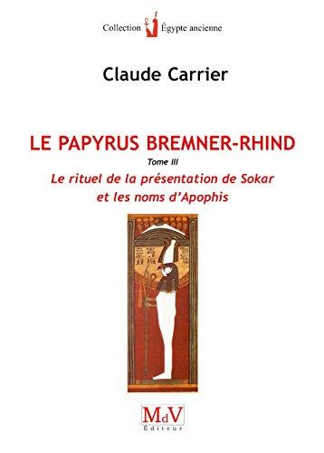 Papyrus Bremner-Rhind T3 (le)