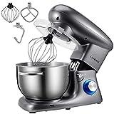 Cookmii Food Stand Mixer 1500W Electric Mixer Dough Blender 5.5L Kitchen Mixer