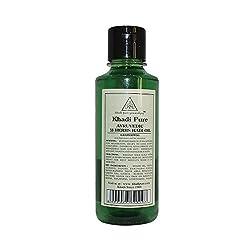 Khadi Pure Herbal Ayurvedic 18 Herbs Hair Oil - 210ml
