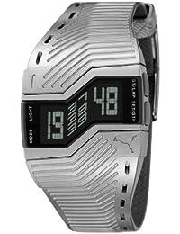 55fe6c5ff Puma PU910761009 - Reloj digital de cuarzo para hombre con correa de  plástico
