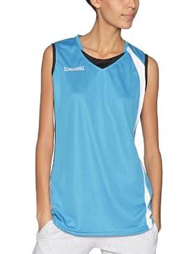 Spalding 4her - Camiseta, color turquesa, talla XXXL