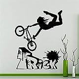 haochenli188 Vélo BMX Freestyle Trick Wall Sticker Vélo Garage Decal de Vinyle...