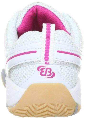Bruetting Lady Indoor 331016, Chaussures de sports en salle femme Blanc-TR-E4-10