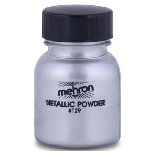 Generique - Professionelle Puder Silber Metalleffekt Mehron 14g