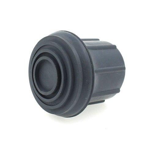 4x Z-Tec 29mm 2conteras de goma gris para andador