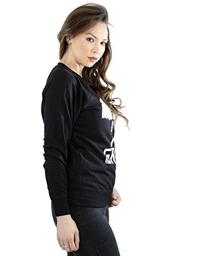Marvel - Sweat-shirt - Aucun motif - Manches Longues - Femme Noir