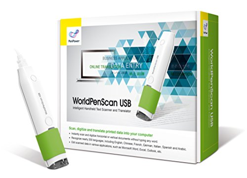 Price comparison product image PenPower WorldPenScan USB SE – Pen Scanner and Translator for Windows/Mac
