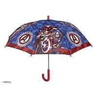 PERLETTI perletti75329 Boy 42/8 Avengers 1 Printed Safety Open Windproof Umbrella, Multi-Color