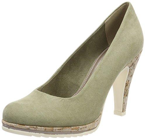 22402, Zapatos de Tacón para Mujer, Beige (Taupe), 36 EU Marco Tozzi