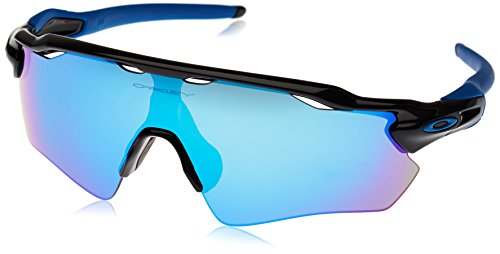 Oakley Sportbrille Radar EV Path, Gafas de Sol para Hombre, Polished Black, 1