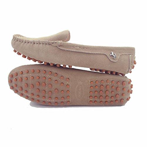Minitoo da donna casual punta arrotondata Mocassini slipper Flats Khaki
