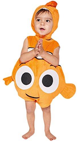 erdbeerloft - Babys Finding Nemo Karneval Komplett Kostüm , Mehrfarbig, Größe 80-86, 12-18 (Kostüm Baby Ferkel)