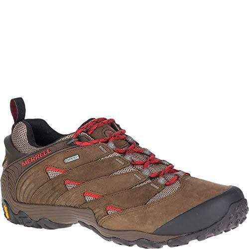 MERRELL Cham 7 GTX, Zapatillas Tiempo Libre y Senderismo Hombre, Boulder Marrón