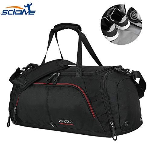 Terylene Casual Herren Sporttasche für Fitness mit Schuhen Tasche Reisetasche Reisetasche Schulter Handtasche Bolsa De Deporte