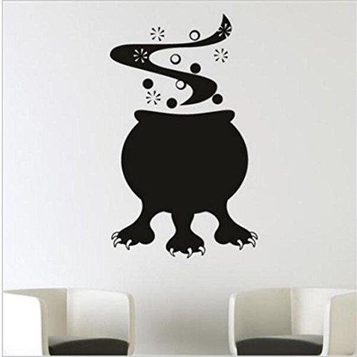 HAN Wand Aufkleber, Shi Happy Halloween Modern Wasserdicht Funny Charakter DIY Wandbild Decor Medium a